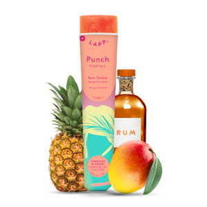 Punch Tropical 4,5% alc./vol.Rhum, Mangue, Ananas